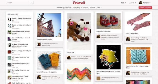 Pinterestが素敵過ぎる件。(わたし的に)【iPhone、iPadでの利用方法を追記】