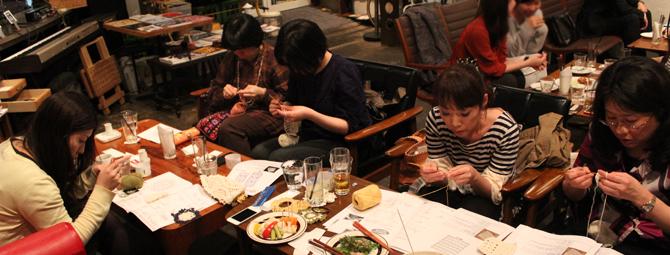 【ニットカフェ&バー|4/18@OnEdrop cafe】開催レポート