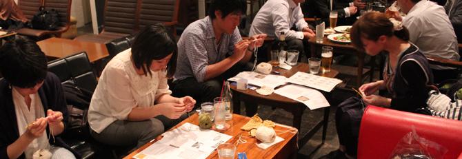ニット男子登場!【ニットカフェ&バー|5/16@OnEdrop cafe】開催レポート