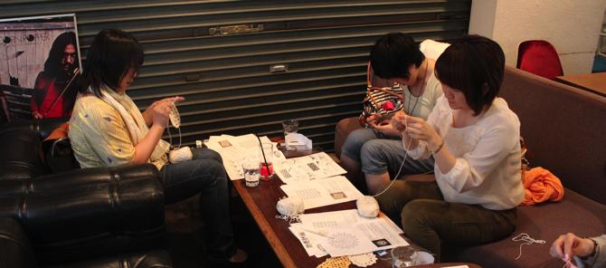 【ニットカフェ|5/26@OnEdrop cafe】開催レポート