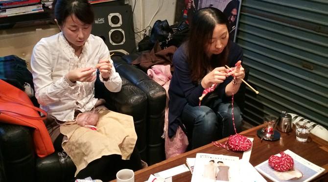 11/20ニットカフェ@OnEdrop Cafe.開催レポート。