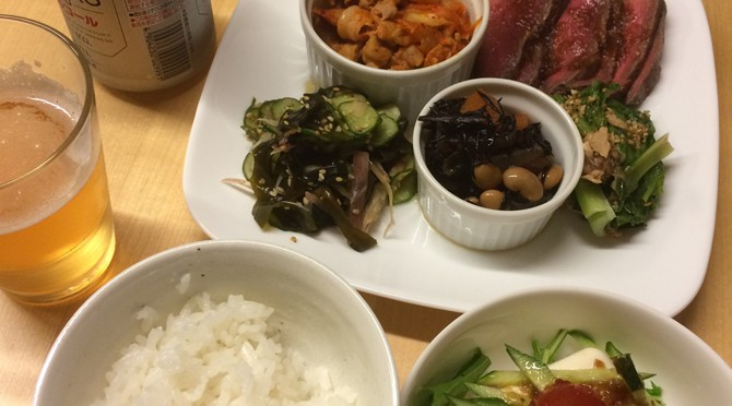 最近のハマリごと。お惣菜作り置き野菜多めご飯にチェンジ!