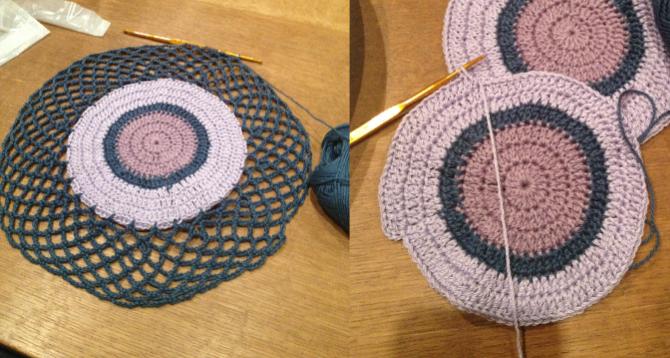かぎ針編み講師認定講座を通信教育で受けはじめました。