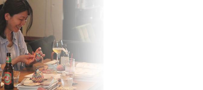 ポコポコパプコーン編みにチャレンジ!5/24(土)ニットカフェ開催レポート。