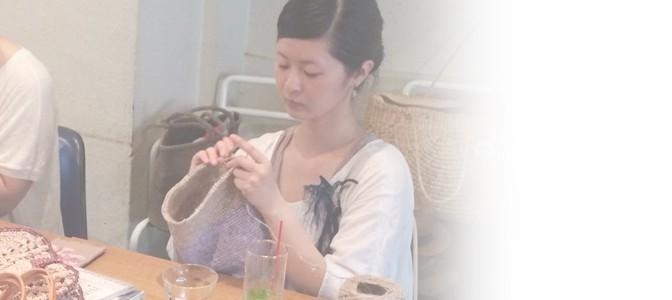 思い思いに編む♪7/12(土)ニットカフェ開催レポート