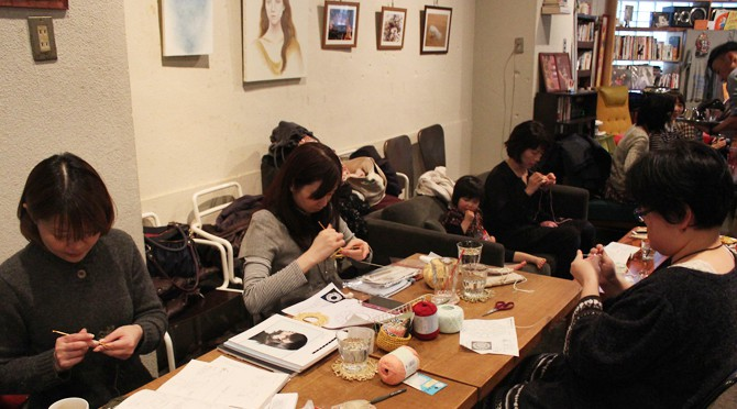 お子様連れでもOK!1/25(14')ニットカフェ@OnEdrop Cafe.