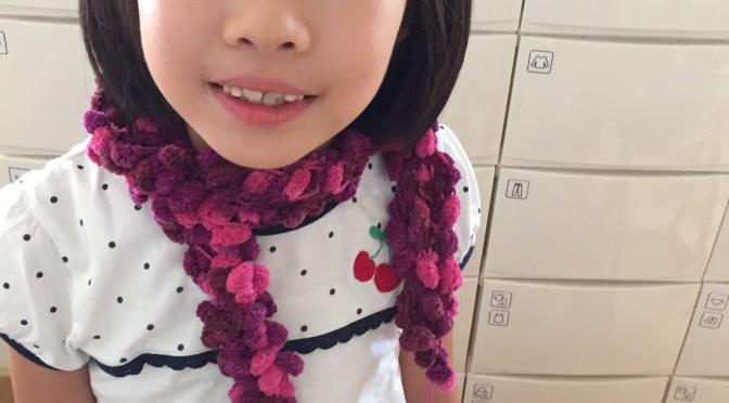 指編みでワークショップ@トレッサ横浜、やります♪