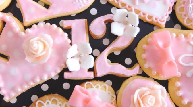 かわいいアイシングクッキー教室のウェブ制作をお手伝い